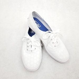 Keds Champion White Eyelet Sneakers size 6